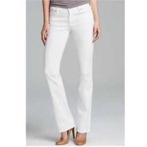 7 For All Mankind Jeans Boot Cut White 31 x 30